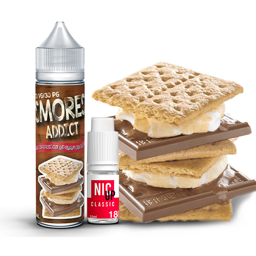 Smores Addict Classic Chocolate Chip and Graham Crackers Smore 60ml E-liquid