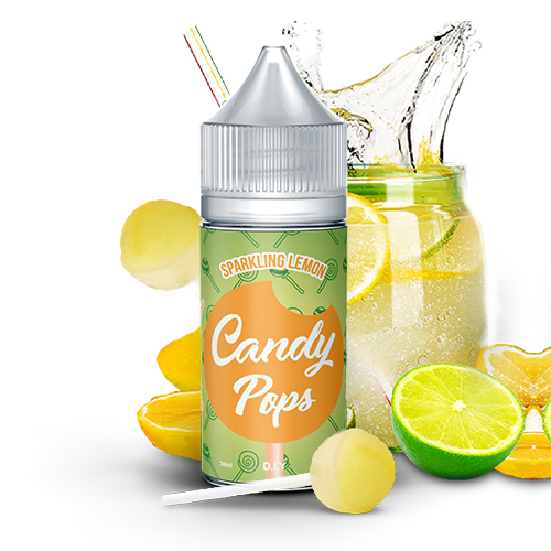 D.I.Y. Candy Pops - Sparking Lemon 30ml