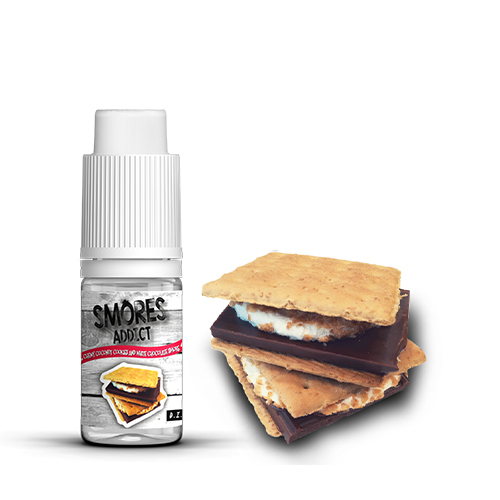D.I.Y.  Smores Addict Chewy Coconut Cookies and White Chocolate Smore 10ml