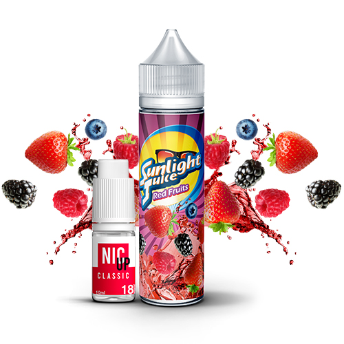 E-liquide Sunlight Juice Red Fruits 60ml