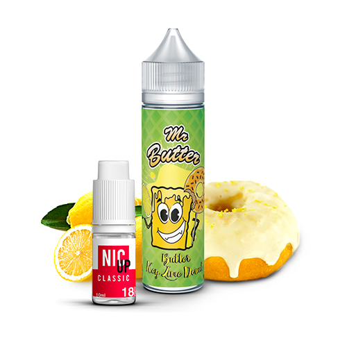 Mr Butter - Butter Key Lime Donut 60ml E-liquid