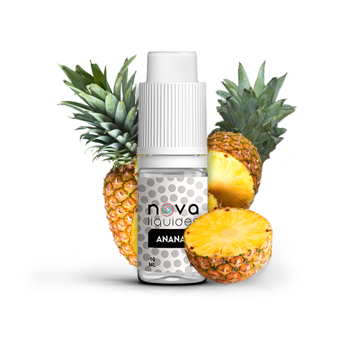 Nova Liquides Ananas 10ml E-liquid | vapeur france