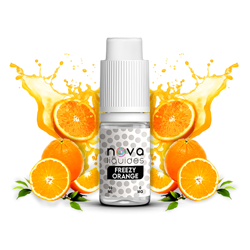 E-liquide Nova Liquides Freezy Orange 10ml | vapeur france
