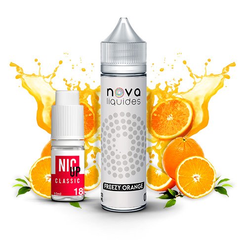 Nova Liquides Freezy Orange 60ml E-liquid