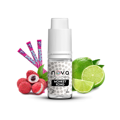 Nova Liquides Monkey Kong 10ml E-liquid | vapeur france