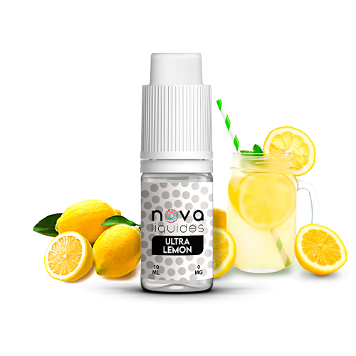 E-liquide Nova Liquides Ultra Lemon 10ml | vapeur france
