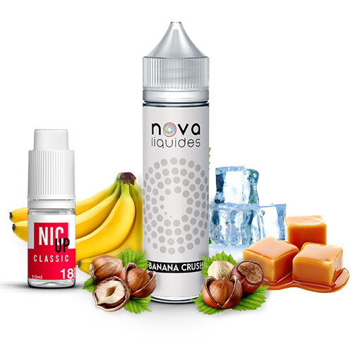 Nova Liquides Banana Crush 60ml E-liquid