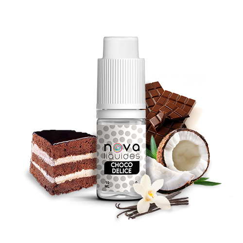 Nova Liquides Choco Delice 10ml E-liquid | vapeur france