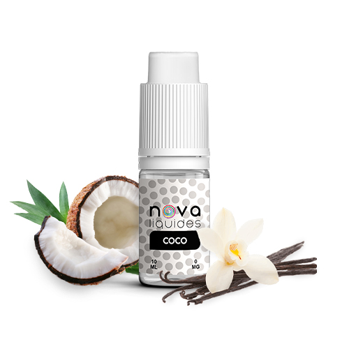 Nova Liquides Coco 10ml E-liquid | vapeur france