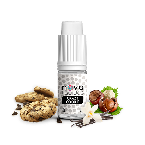 Nova Liquides Crazy Cookie 10ml E-liquid | vapeur france