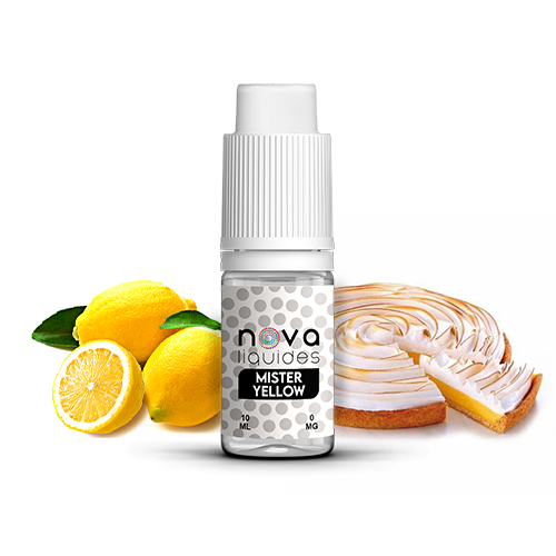Liquidi Nova Liquides Mister Yellow 10ml | vapeur france