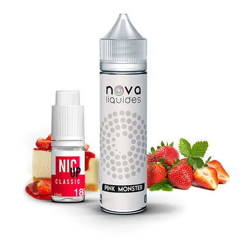 E-liquide Nova Liquides Pink Monster 60ml